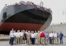 Bollinger-Made Transport Barge to Support General Dynamics' Columbia-Class Submarine Construction - top government contractors - best government contracting event