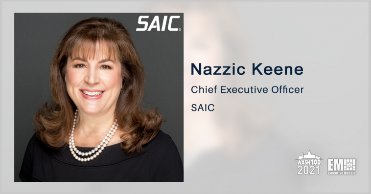 Former DOD Leaders Join SAIC's New Strategic Advisory Board; CEO Nazzic Keene Quoted - top government contractors - best government contracting event