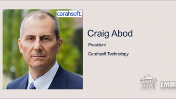 Carahsoft Expands ITES-SW2 Contract Offerings With 95 New Software Vendors; Craig Abod Quoted - top government contractors - best government contracting event