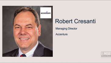 Robert Cresanti to Lead Accenture's North America Government Relations - top government contractors - best government contracting event