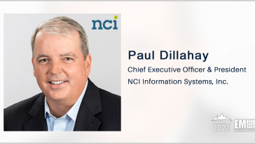 NCI Receives CMS Appeal Review Support Contract; Paul Dillahay Quoted - top government contractors - best government contracting event