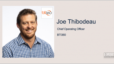 Joe Thibodeau Promoted to BTI360 COO - top government contractors - best government contracting event