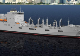 General Dynamics NASSCO Christens First of Navy's John Lewis-Class Replenishment Oilers - top government contractors - best government contracting event
