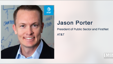 Executive Spotlight: Jason Porter, President of AT&T Public Sector and FirstNet - top government contractors - best government contracting event