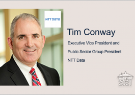 Executive Spotlight: Tim Conway, EVP and Public Sector Group President of NTT DATA - top government contractors - best government contracting event