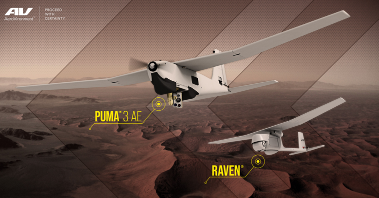 AeroVironment Secures USAF Orders for Puma 3 AE, Raven UAS - top government contractors - best government contracting event