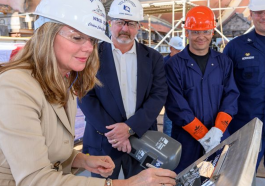 HII Lays Keel of Coast Guard's Legend-Class National Security Cutter Calhoun - top government contractors - best government contracting event