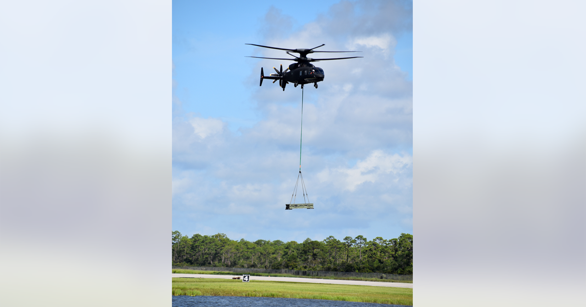 Sikorsky-Boeing Demonstrator Aircraft Carries Rocket Launcher System During Test Flight - top government contractors - best government contracting event