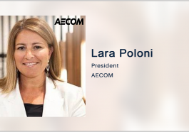 AECOM Secures Post on $240M USACE Environmental Remediation Contract; Lara Poloni Quoted - top government contractors - best government contracting event