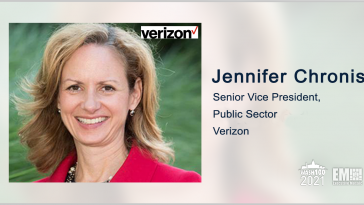 Verizon to Help Air National Guard Modernize Network Under $79M EIS Task Order; Jennifer Chronis Quoted - top government contractors - best government contracting event