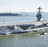 Huntington Ingalls Books $95M Navy Delivery Order for USS Gerald Ford Repair, Alteration - top government contractors - best government contracting event