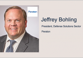Peraton Wins $130M Contract to Accelerate DOD Benefit Determination, Delivery; Jeffrey Bohling Quoted - top government contractors - best government contracting event
