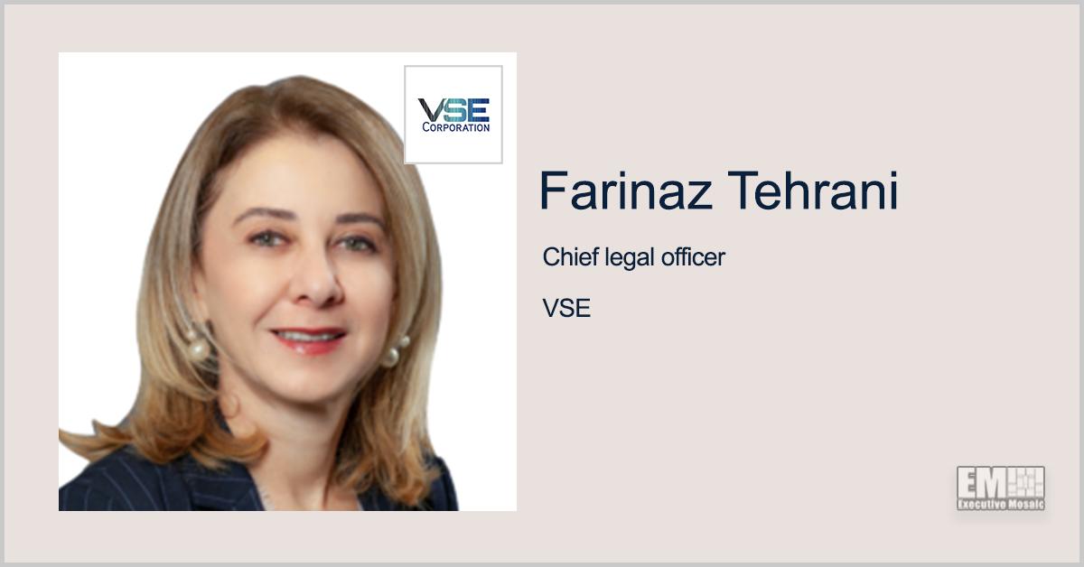 Farinaz Tehrani Named VSE SVP, Chief Legal Officer & Corporate Secretary