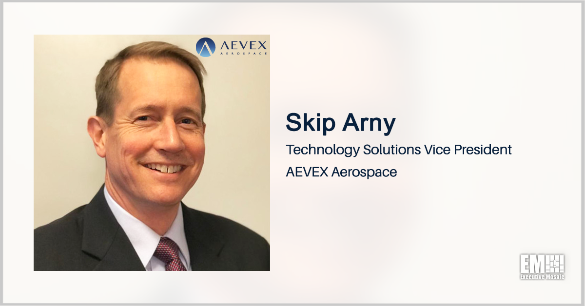 AEVEX Names Navy Vet Skip Arny as Technology Solutions VP - top government contractors - best government contracting event