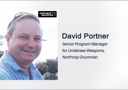 Northrop's David Portner: Navy Could Release Solicitation for New Torpedo in Late August - top government contractors - best government contracting event