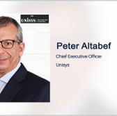 Peter Altabef on Unisys' Public Sector Cloud, Digital Workplace Business Segments - top government contractors - best government contracting event