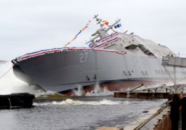 Navy Expands LCS Fleet With USS Nantucket Launch - top government contractors - best government contracting event
