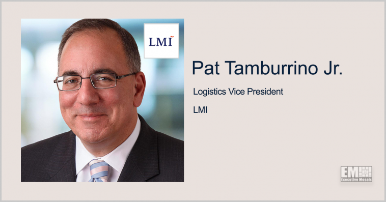 LMI, Exiger Team to Support DLA's AI-Powered Supply Chain Program; Pat Tamburrino Jr. Quoted - top government contractors - best government contracting event