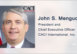 CACI Rolls Out New Compact, Multi-Sensor Imaging System for ISR Missions; John Mengucci Quoted - top government contractors - best government contracting event