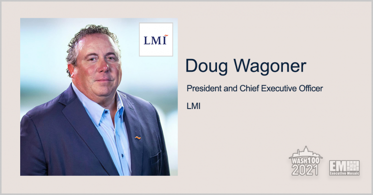 Executive Spotlight: Doug Wagoner, President and CEO of LMI - top government contractors - best government contracting event
