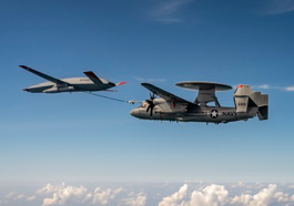 Boeing's MQ-25 T1 Test Asset Completes Second Refueling Demo With Navy Aircraft - top government contractors - best government contracting event
