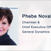 General Dynamics CEO Phebe Novakovic on US Defense Spending, Submarines - top government contractors - best government contracting event
