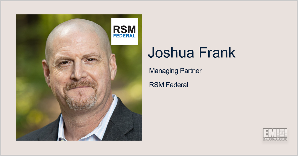 ExecutiveBiz Events Hosts 'How to Win Government Contracts with Joshua Frank' Fireside Chat - top government contractors - best government contracting event