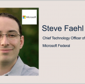 Microsoft Federal's Steve Faehl: Agencies Should Use Identity as First Pillar in Zero Trust - top government contractors - best government contracting event