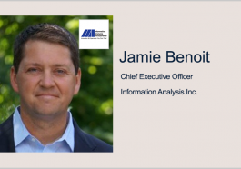 Former FedData Exec Jamie Benoit Named CEO & Chairman at Information Analysis Inc. - top government contractors - best government contracting event