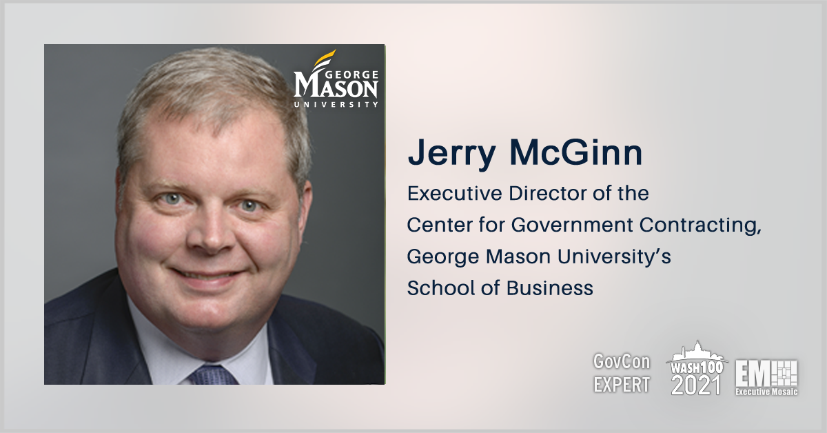 Large Contractors Seek Federal Health IT Market Share Via Acquisitions; GovCon Expert Jerry McGinn Quoted - top government contractors - best government contracting event