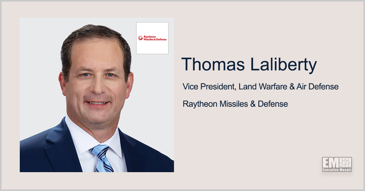 Thomas Laliberty: Raytheon Uses 'Advanced Algorithms' in UAS Threat, Attack Modeling - top government contractors - best government contracting event