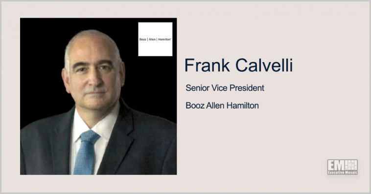 Former NRO Official Frank Calvelli Joins Booz Allen as SVP; Judi Dotson Quoted - top government contractors - best government contracting event