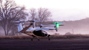 NASA Kicks Off Test Flight of Joby's Electric Vertical Aircraft - top government contractors - best government contracting event