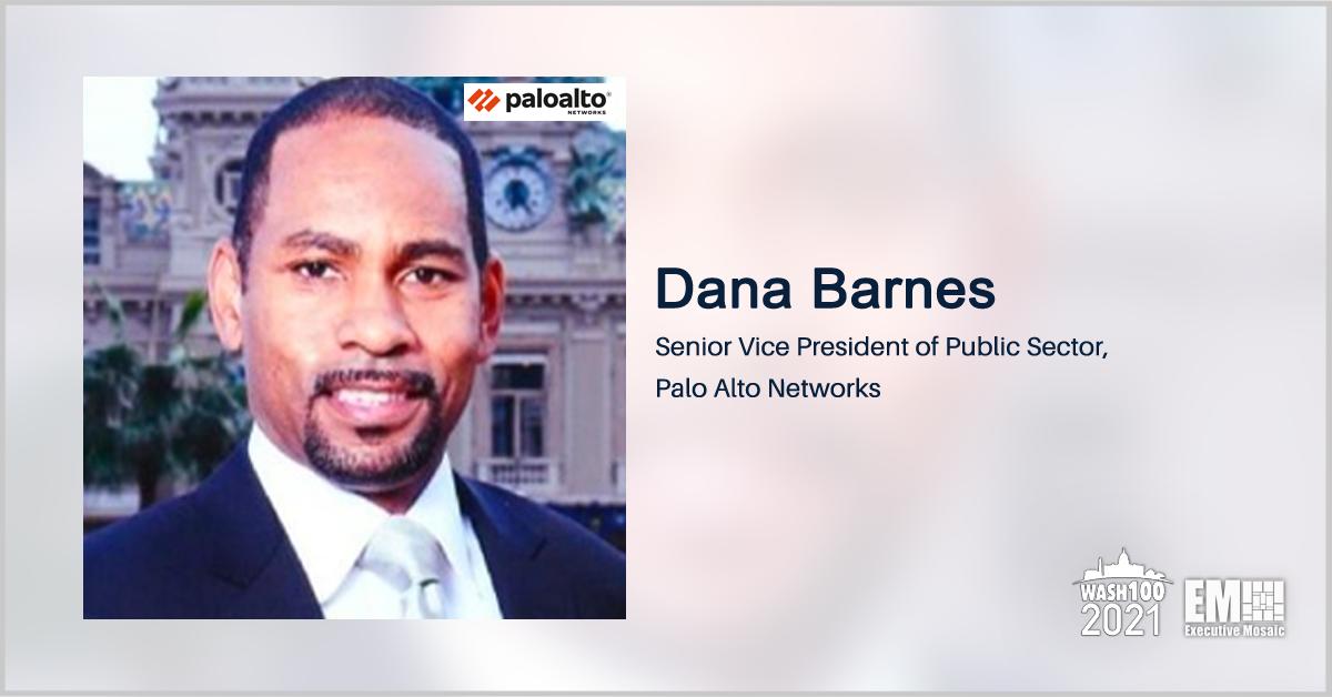 Executive Spotlight: Dana Barnes, SVP of Public Sector for Palo Alto Networks - top government contractors - best government contracting event
