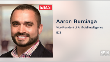 ECS, Calypso AI Partner to Expand AI Testing, Evaluation Offerings; Aaron Burciaga Quoted - top government contractors - best government contracting event