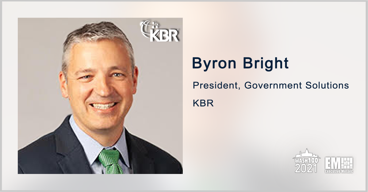 KBR Subsidiary Demos Laser Prototype Under Army Directed Energy Program; Byron Bright Quoted - top government contractors - best government contracting event