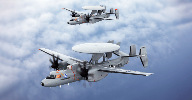 Navy Taps BAE for Delivery of Aircraft Early Warning System Components - top government contractors - best government contracting event