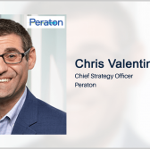 Peraton's Chris Valentino on How Industry Could Help DOD Advance JADC2 - top government contractors - best government contracting event