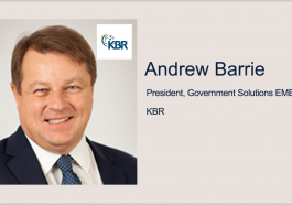 KBR Partners With Adarga to Boost AI Capabilities for Defense, Security Sectors; Andrew Barrie Quoted - top government contractors - best government contracting event