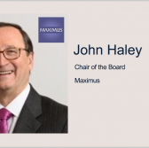 Maximus Board Selects John Haley to Succeed Peter Pond as Chair; Bruce Caswell Quoted - top government contractors - best government contracting event