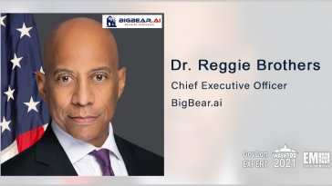 BigBear.ai Partners With Virgin Orbit to Deploy AI-Powered Analytics Platform; Dr. Reggie Brothers Quoted - top government contractors - best government contracting event