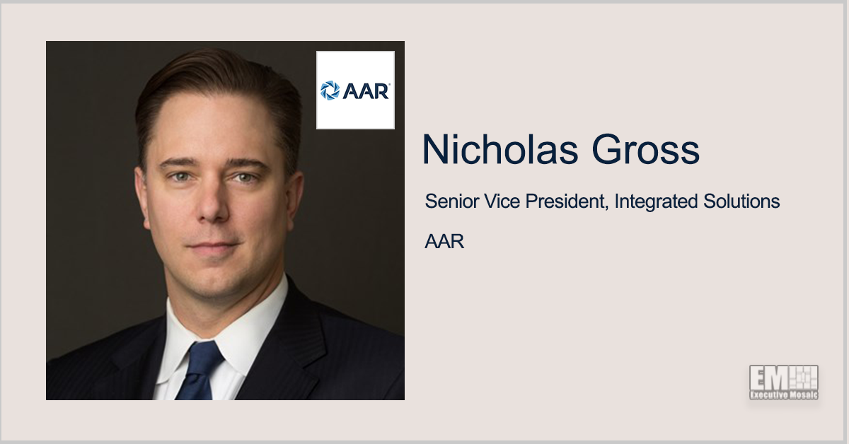 AAR Books National Nuclear Security Administration Contract for FlexCombi Reconfiguration; Nicholas Gross Quoted