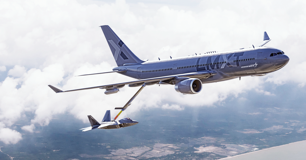 Lockheed Launches 'LMXT' Tanker