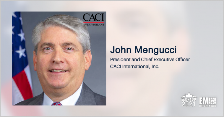 John Mengucci on CACI's M&A Strategy - top government contractors - best government contracting event