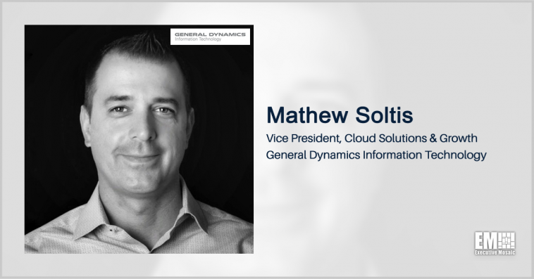 GDIT's Mathew Soltis Highlights How Cloud Computing Could Enhance Public Health Care - top government contractors - best government contracting event