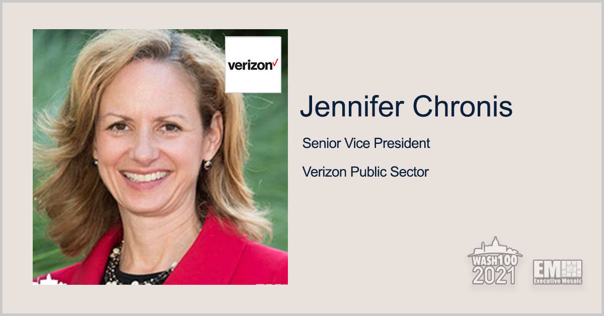 DOD Taps Verizon to Provide Air Force Reserve Command Installations With 5G; Jennifer Chronis Quoted