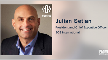 SOSi's Cybersecurity Services to Support Verizon's Army EITaaS Environment Pilot; Julian Setian Quoted - top government contractors - best government contracting event