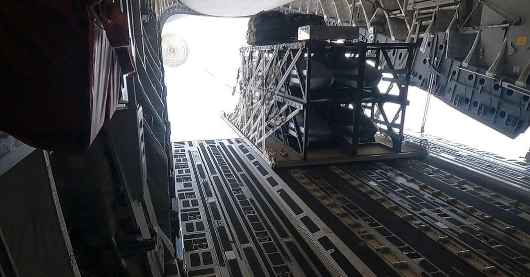 Lockheed, USAF Complete Palletized Strike Mission Demo; Scott Callaway Quoted