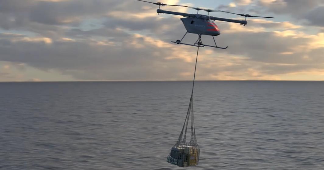 Kaman Intros New Autonomous System for Expeditionary Logistics