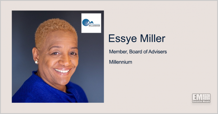 Former DOD Official Essye Miller Named to Millennium's Board of Advisers - top government contractors - best government contracting event